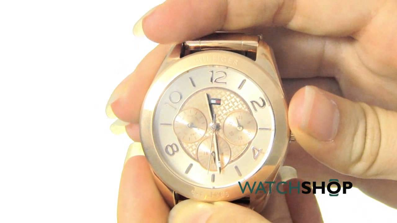 f8d7517ae6 Tommy Hilfiger Ladies  Gracie Watch (1781204) - YouTube