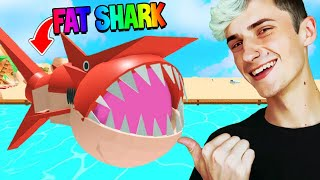 I became FATTEST SHARK with 5x EVERYTHING 🦈 (Roblox)