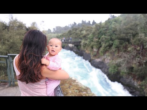 ✈ RAIN! TOP 10 Things To Do in Lake Taupo ♡ Family Travel with Baby | New Zealand