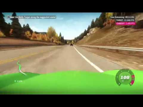 Horizon 1 drifting n PR stunts