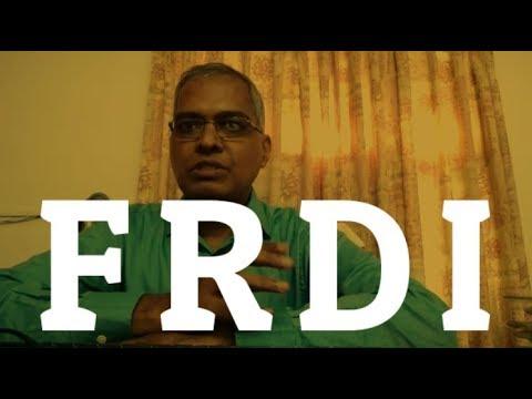 Should Depositors Worry? (FRDI) | By Chokkalingam Palaniappan | Prakala Wealth Management