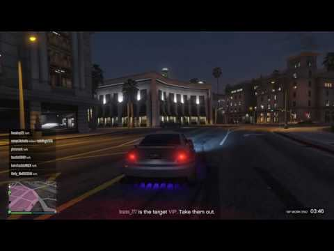 Grand Theft Auto 5 ( Running away from the VIP)