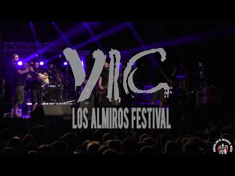 V.I.C. - (new song) @ 7th Los Almiros Festival, Kouri Forest 04/08/2018