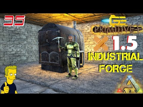 ARK PRIMITIVE PLUS PATCH 1.5 INDUSTRIAL FORGE BASE BUILD S2 E35