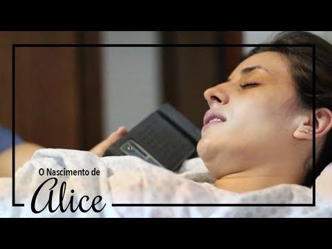 Nascimento de Alice - Parto Normal