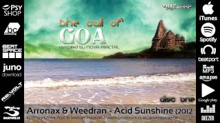 Arronax, Weedran - Acid Sunshine 2012 Edit [Timewarp Official]