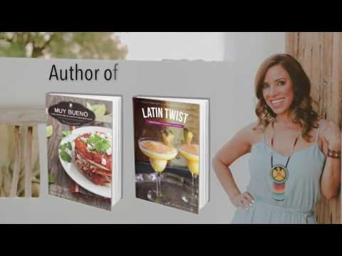 Yvette Marquez-Sharpnack: Cookbook Author, On-Air Expert, Food Editor, Muy Bueno | Media Reel 2017