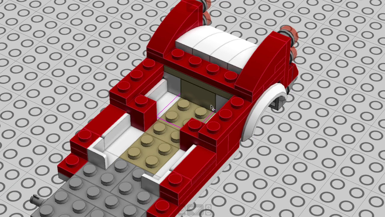 Lego 10260 Downtown Diner Car Mod Building Instructions - Keep On