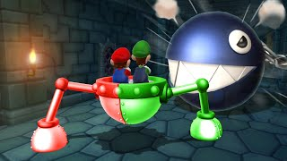 Mario Party 9 Boss Rush - Mario Vs Daisy Vs Peach Vs Luigi (Master Cpu)