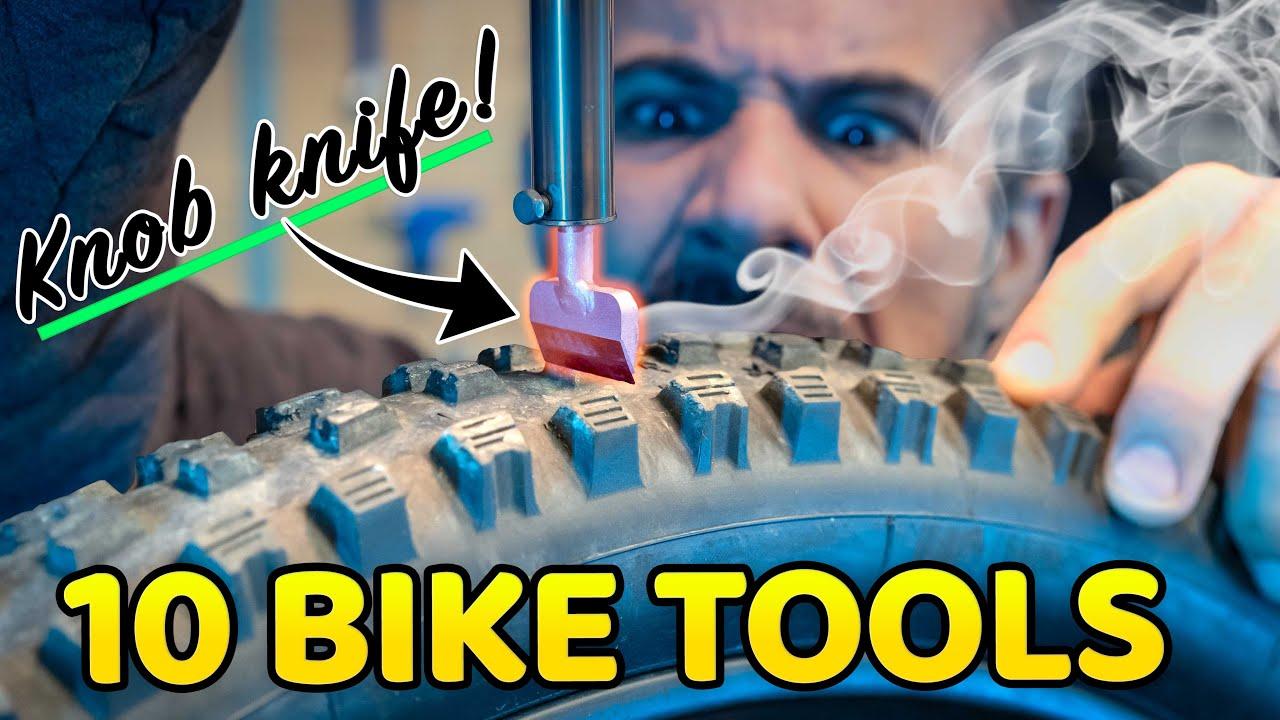 10 Bike Tools that aren't screwdrivers