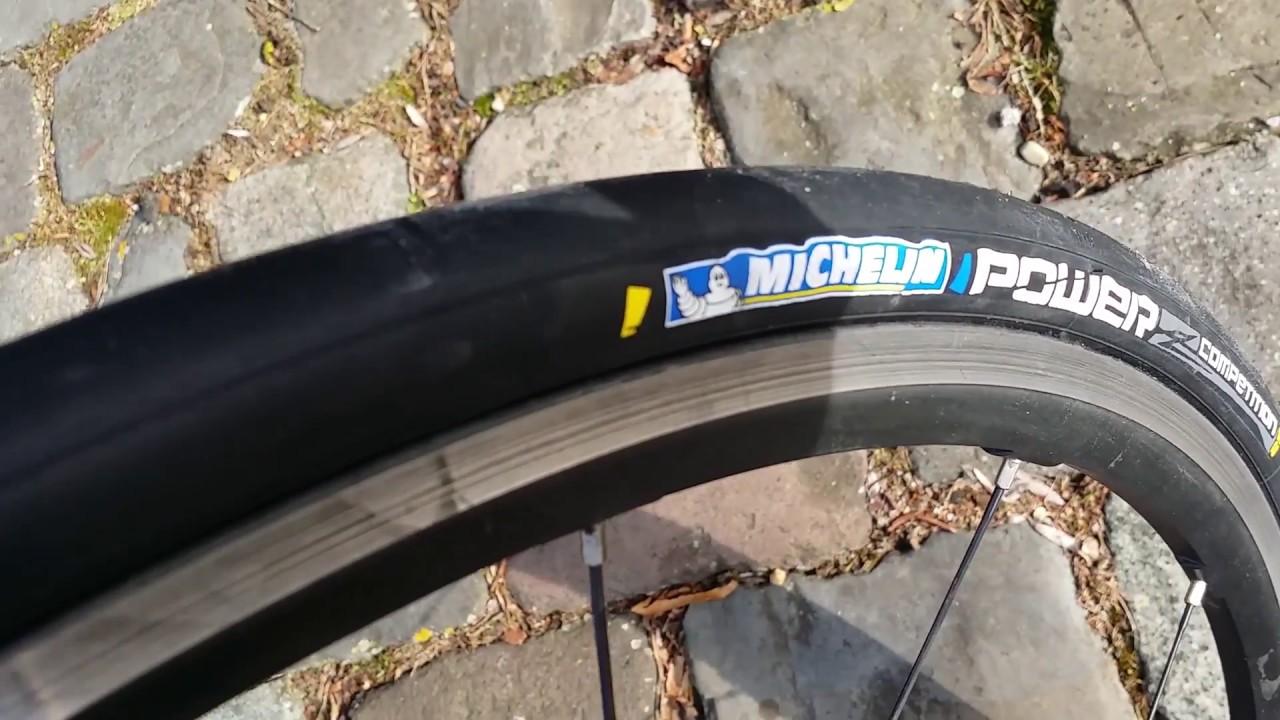 Michelin Power Competition Tire 700x25c 3x180 TPI Clincher