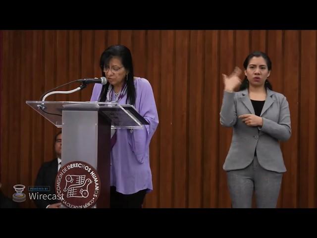 Disculpa Pública y Reconocimiento de Responsabilidad Institucional en honor de Carlos Sinuhe