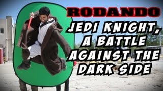 "Rodando ""Jedi Knight, a battle against the Dark Side"""
