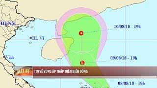 Tin bão mới nhất: cập nhật diễn biến vùng áp thấp trên Biển Đông