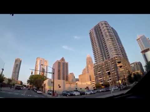 Charlotte, North Carolina (Driving Tour) HD 60fps