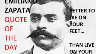 How to be independent - but know you will still have a boss | QOTD w/ Emiliano Zapata
