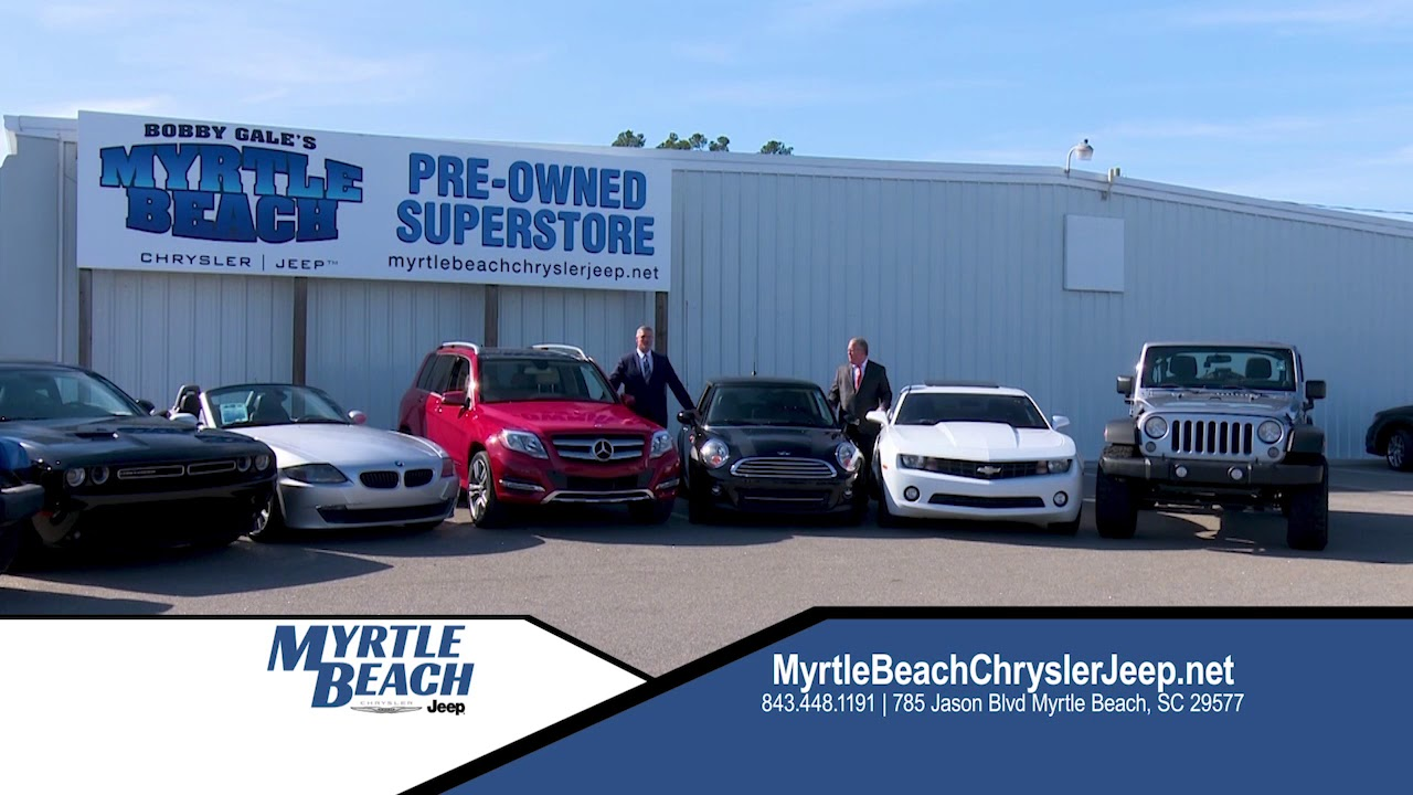 Perfect Amazing Deals On Pre Owned Vehicles At Myrtle Beach Chrysler Jeep