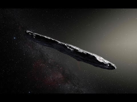 How an Alien Probe Entered Our Solar System? Cigar Shaped Interstellar Comet & Secret Space Program