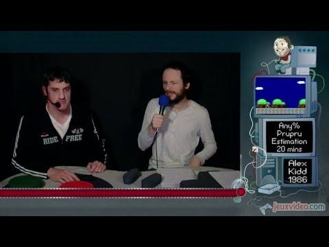 Speed Game  Alex Kidd in Miracle World  Défi  en moins de 20 minutes !