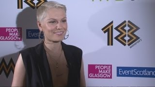 Jessie J talks about her new album and Miley Cyrus at the MOBO nominations