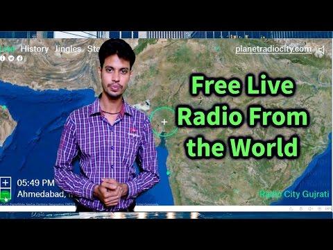 RADIO GARDEN LIVE _ HOW TO LISTEN A GLOBAL RADIO STATION [Hindi]