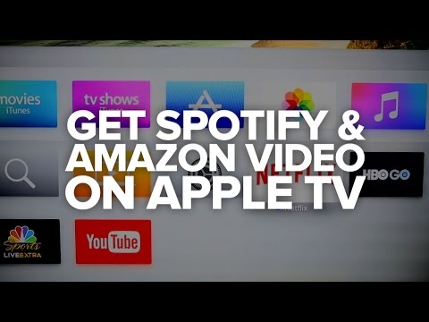 CNET How To - An easy way to stream Spotify and Amazon Video to your Apple TV