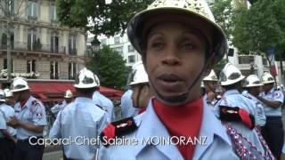 Actualité - Le défilé des pompiers réunionnais le 14 juillet à Paris