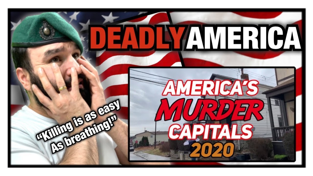British Marine Reacts To The 10 MOST DANGEROUS CITIES in AMERICA for 2020