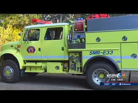 Santa Maria Fire Dept. seeking new engine to help fight wildfires