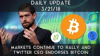 Daily Update (3/21/2018) | Crypto markets signaling strength