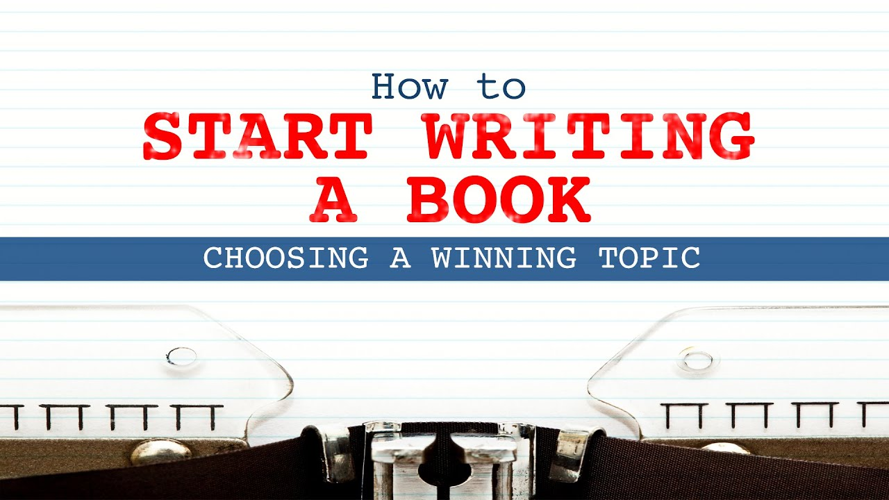 How to Begin Writing a Book