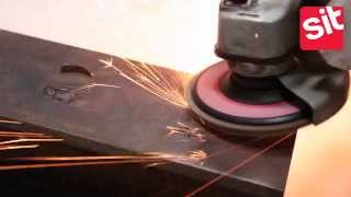 How To Use Grinding Discs For Angle Grinder - Sit Brush - Dischi Lamellari Per Smerigliatrice