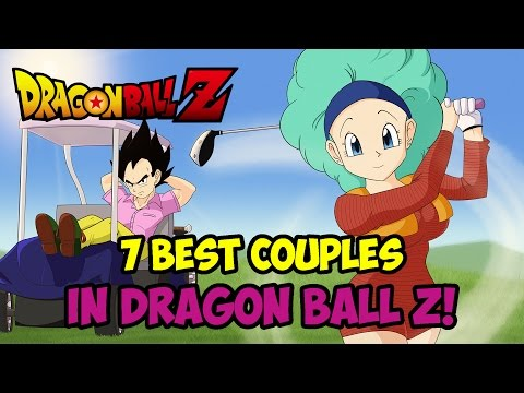 7 COUPLES IN DRAGON BALL Z (Valentine's Day 2016 Special - Top 10 DB)