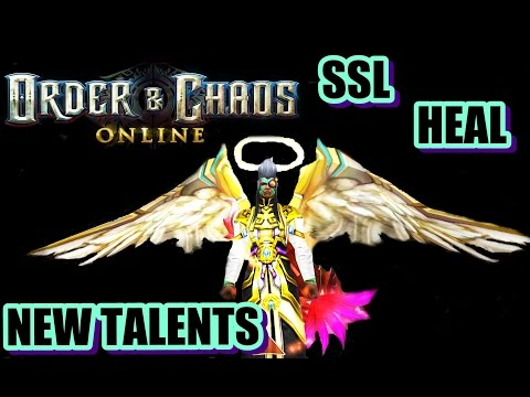 Order And Chaos Online - SSL (Heal New Talents Tree)