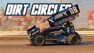 iRacing: Dirt Circles (410 Sprintcar @ Volusia)