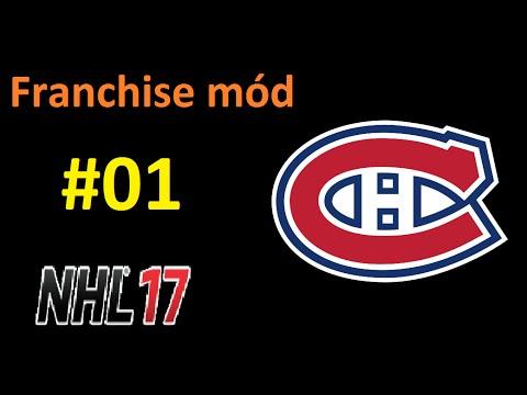 NHL 17 CZ (PS4) - Franchise mode za Montreal Canadiens - 01 draft snu