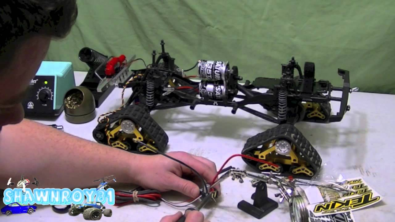 Axial Scx10 Dual Motor Upgrade Youtube
