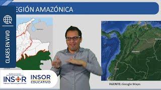 Las Regiones De Colombia Ii: Clase De Ciencias Sociales Para Personas Sordas