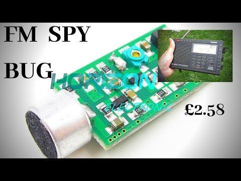 Mini Cheap FM Spy Bug Listening Device No2.