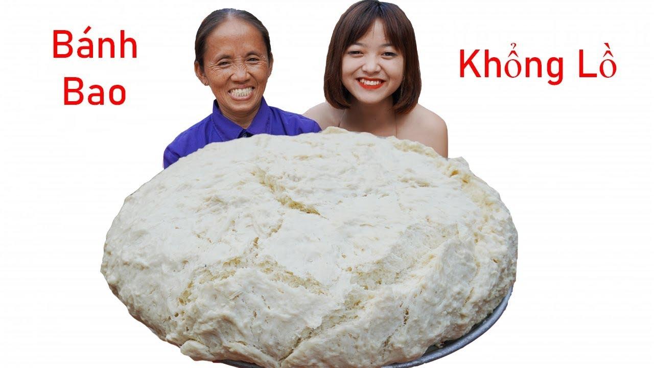 Bà Tân Vlog - Làm Chiếc Bánh Bao Siêu To Khổng Lồ | Giant Dumplings