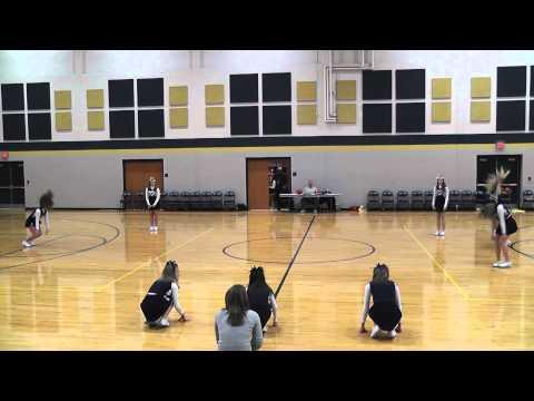 Tri-West Middle School 8th grade cheer dance