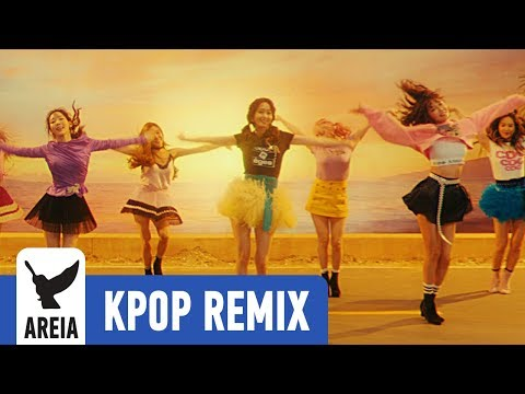 SNSD Girls' Generation - Holiday | Areia Kpop Remix #292