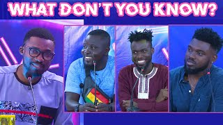 What Don't You Know? Dr Pounds Vs Kobi Rana Vs Donzy Chaka.
