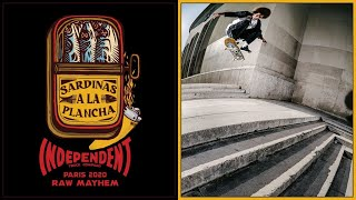 RAW MAYHEM Sardinas A La Plancha: Paris Tour 2020 | Independent Trucks