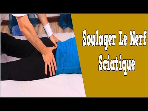 Souvent Soulager Le Nerf Sciatique, Nerf Sciatique Exercices, Comment  UN41