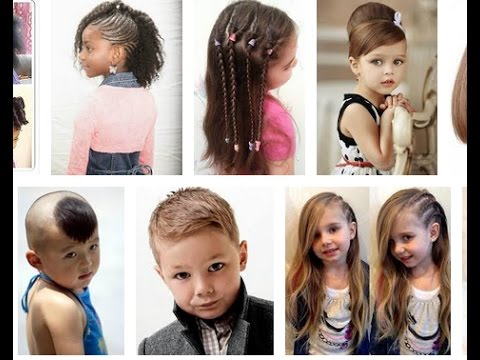 Cool kid hairstyles - YouTube
