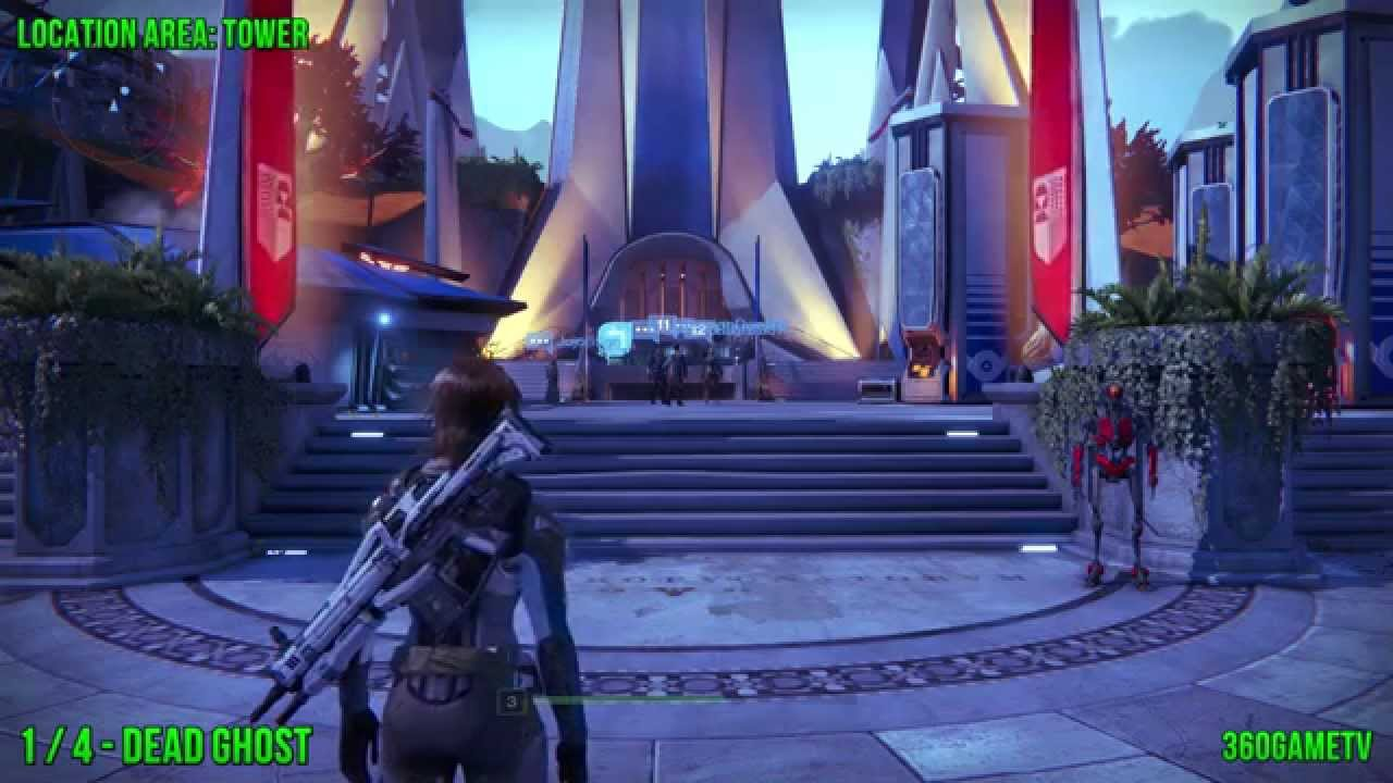 Destiny - All Dead Ghost Locations - Tower Collectible Guide - Ghost Hunter  Achievement