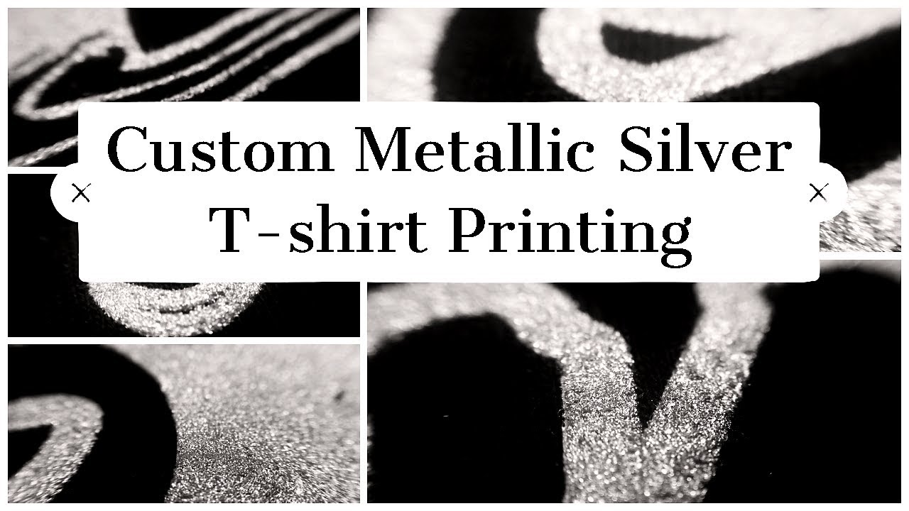 Glitter T-Shirt Printing | DesignAShirt