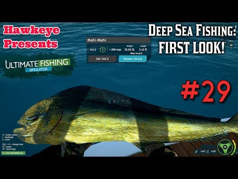 Ultimate Fishing Simulator #29: Deep Sea Fishing - FIRST LOOK!
