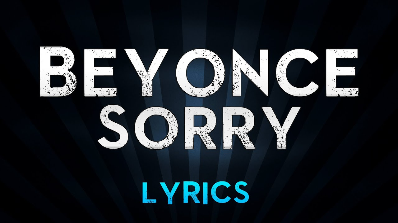 sorry fucking Song with